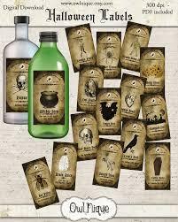 printable halloween bottle labels vintage printable apothecary labels vintage apothecary