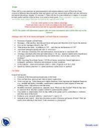 Anatomy And Physiology Chemistry Quiz Brain And Spinal Cord Human Anatomy And Physiology Quiz Docsity