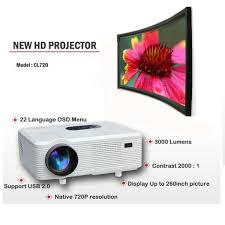 home theater tv vs projector amazon com excelvan cl720 hd home cinema theater multimedia