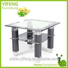 Square Glass Table Top Promotion Square Tempered Printed Glass Top Coffee Table Buy