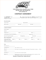 Child Support Contract Template Dj Contract Templates Resume Cv Cover Letter