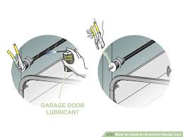 Installing An Overhead Garage Door How To Install An Overhead Garage Door With Pictures Wikihow