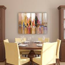 wall decor dining room amazon com portfolio canvas decor large printed canvas wall art
