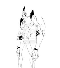 14 images of way big ben 10 ultimate alien coloring pages ben 10