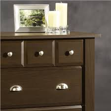Sauder File Cabinets Sauder Shoal Creek 4 Drawer Chest Jamocha Wood Home Decoration Shop