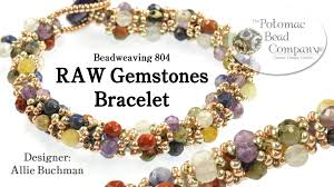 bracelet tutorials youtube images Make a quot raw gemstones quot bracelet jpg