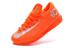 for sale nike kd 6 vi elite team orange metallic silver