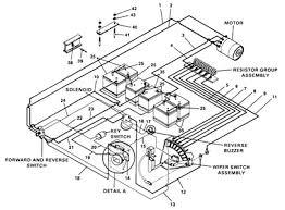wiring diagram for ez go golf cart in electric carlplant