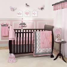 Pink Brown Crib Bedding Furniture Organic Pom Baby Bedding 1 J Wonderful Clearance 12