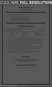 Licensed Practical Nurse Sample Resume by Sample Resume For Lpn New Grad Resume For Your Job Application