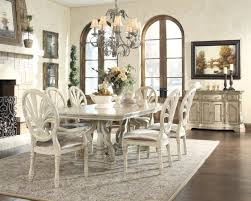 brilliant decoration antique white dining table cool and opulent