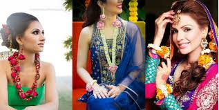 floral accessories a guide into flaunting floral jewelry on your mehendi bling sparkle