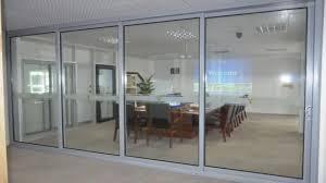 Double Glass Door by Double Glazed Aluminium Stacking Sliding Glass Doors Double Glazed