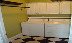 Laundry Room Cabinets With Hanging Rod Best Laundry Room Shelf With Hanging Rod Regarding 20163
