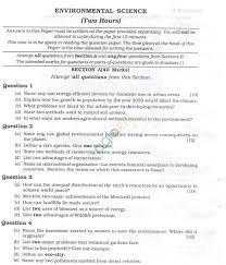 icse question papers 2013 for class 10 u2013 environmental science