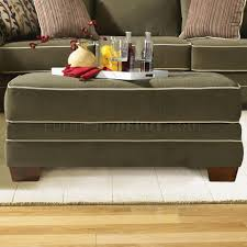 Transitional Living Room Furniture by Transitional Fabric Living Room U202 Opulence Moss