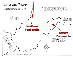 Map Of Eastern Virginia by Lesson Images