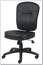 brown leather armless desk chair desk chairs white leather office chair armless desk brown leather