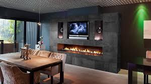 custom made fireplace as home centrepiece