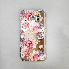 succulent bouquet floral and succulent bouquet clear tpu phone cover arla