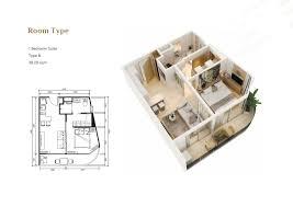 Mit Floor Plans by кондоминиум 1 Br на бангтао основы жизненного пространства