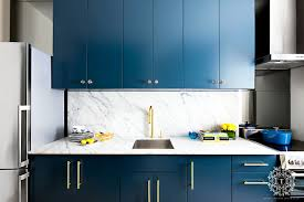 blue kitchen cabinets toronto feeling blue in 2021 blue kitchen cabinets kitchen
