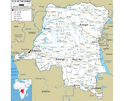 Burundi Africa Map by Maps Of Congo Democratic Republic Detailed Map Of Congo