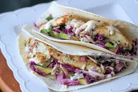 8 Classic Fish And Seafood Sauce Recipes Grilled Fish Soft Tacos With Baja Cream Sauce