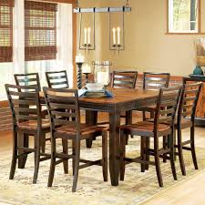 cheap dining room table sets abaco 9 piece gathering table set 54