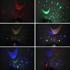 Star Light Projector Bedroom - sun and star lighting lamp 4 led bead 360 degree romantic room