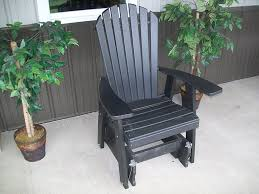 Gliding Chairs Amazon Com Outdoor Poly Adirondack Gliding Chair Amish Made