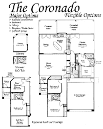 Springs Floor Plans by Floor Plans For The Coronado Models Inside Arizona Traditions An
