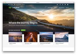 travel web images Top 18 directory website html5 templates website templates and jpg