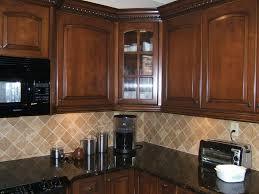 granite countertop kitchen backsplash ideas white cabinets black