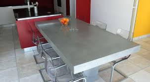 beton ciré cuisine table beton cire aperu de nos ralisations with beton mineral salle