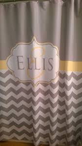 90 Inch Shower Curtain Shower Curtain Chevron Fabric You Choose Colors 70 74 78 84 88