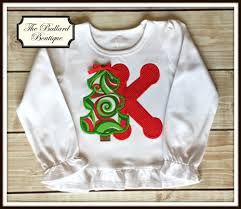 monogrammed christmas christmas winter