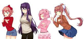 Sweater Meme - doki doki meme sweater