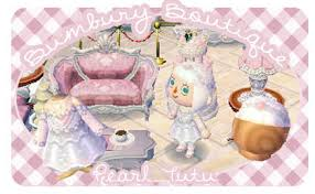 animal crossing new leaf qr code hairstyle clothing bumbury boutique pearl winter tutu and hair