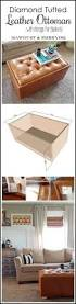 Build Storage Ottoman by Best 25 Diy Leather Ottoman Ideas On Pinterest