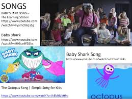 baby shark youtube learning station way down deep in the deep blue sea