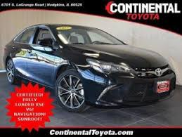 continental toyota used cars used toyota camry for sale in chicago il cars com