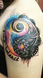 Yang Yang Tattoos 50 Mysterious Yin Yang Designs And Design