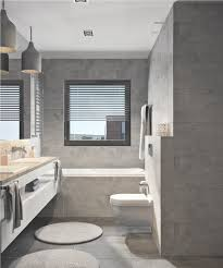 trendy bathroom design ideas combined with white color decor