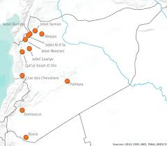 Maps Syria by Ancient History Modern Destruction Assessing The Current Status
