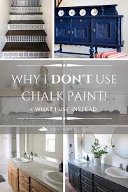 can you use chalk paint for cabinets why i don t use chalk paint