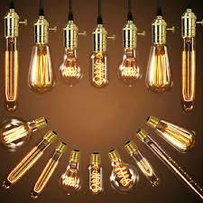 vintage antique style bulbs edison industrial filament light bulb