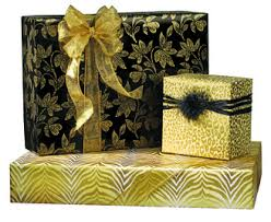 yellow wrapping paper gift wrap western foil corporation 206 624 3645