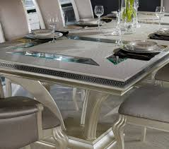 hollywood swank large dining table aico aico dining room for
