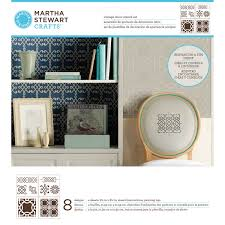 martha stewart crafts vintage décor stencils ornamental